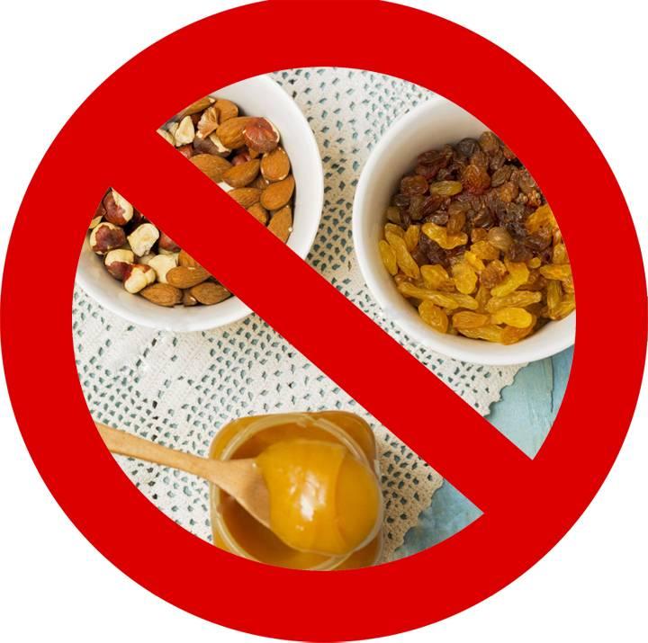 Список продуктов понижающих давление и что нельзя есть при высоком