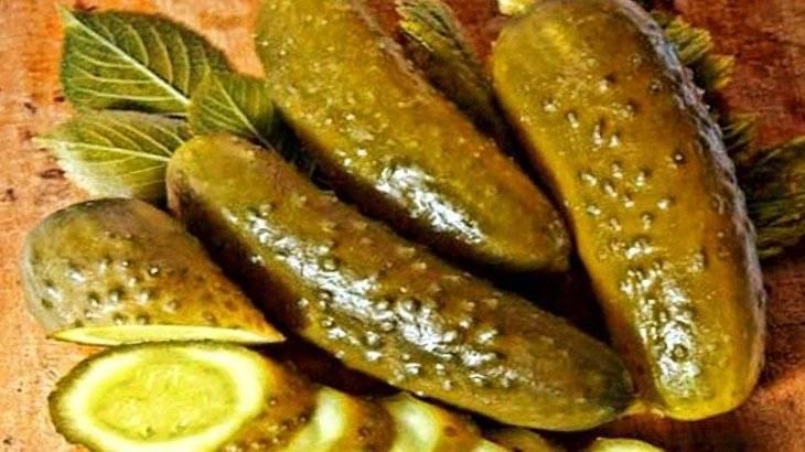 Вред и пользы соленых огурцов для организма