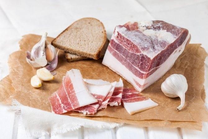 Сало: польза и вред свиного сала для здоровья