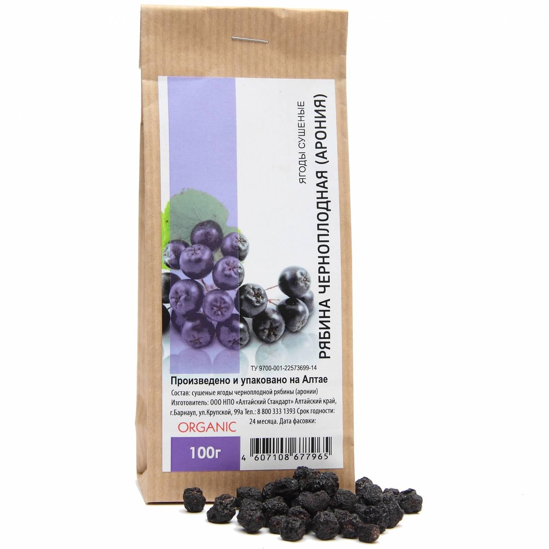 Как правильно сушить черноплодную рябину