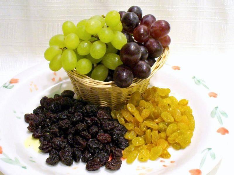 Сушеный виноград: белый, кишмиш, как сушить в домашних условиях