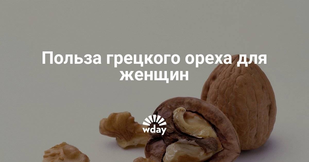 Всё о грецком орехе – состав, польза и суточная норма