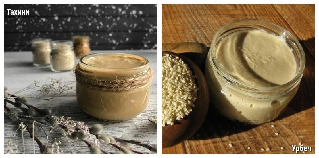 Тахини: полезные свойства и противопоказания кунжутной пасты
