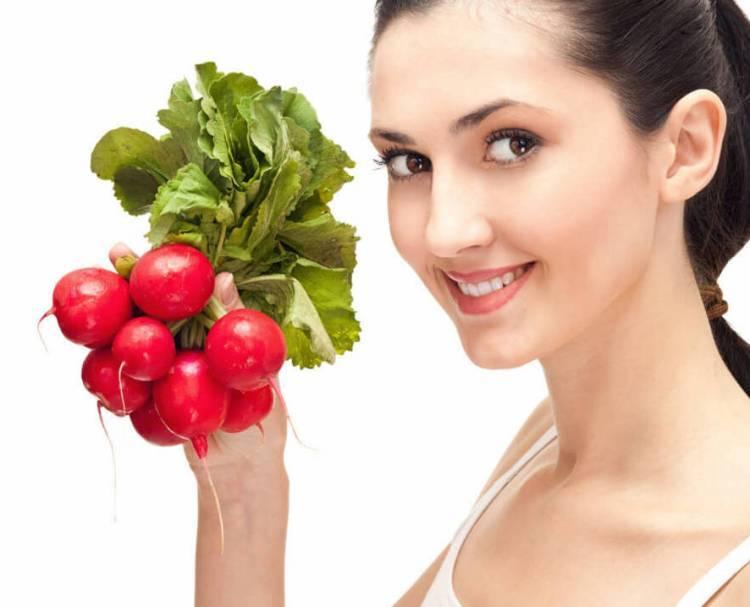 Редиска — польза и вред для здоровья