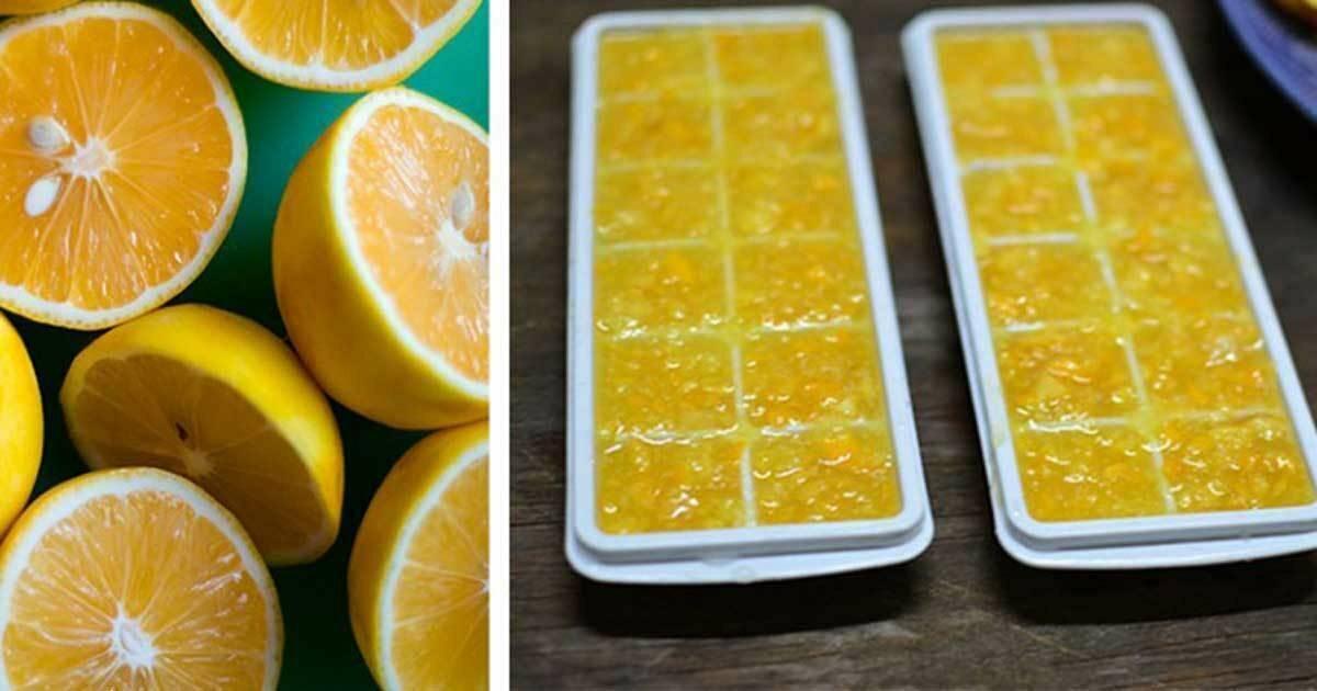 Замороженные лимоны: чем полезны, как принимать