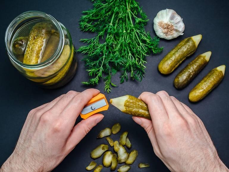 Огурцы польза и вред для организма в свежем виде и в заготовках