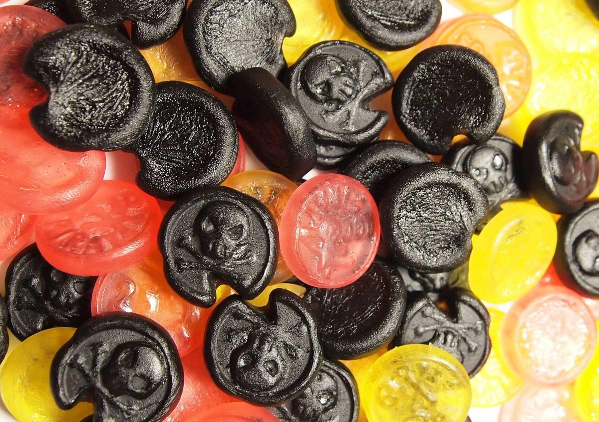 Лакричные конфеты - вкусное лекарство