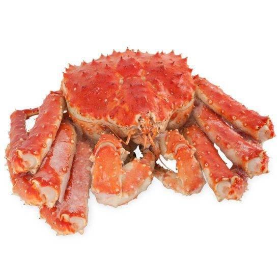 Крабовое мясо польза и вред