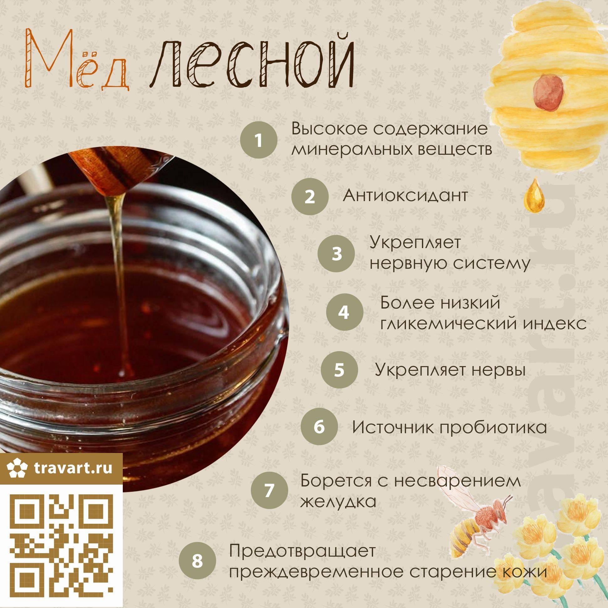 Цветочный мед: польза и вред