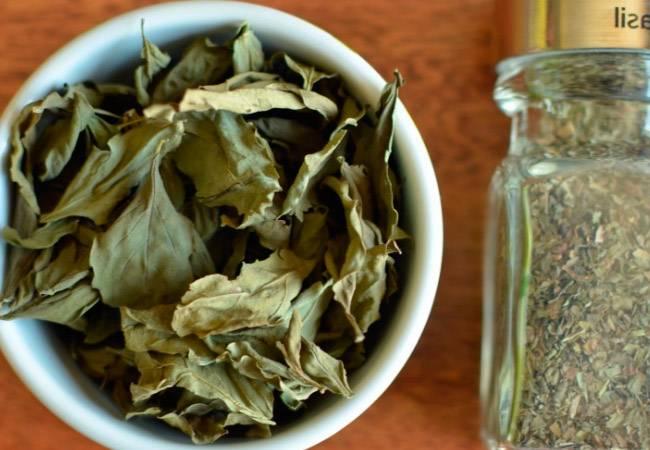 Базилик, как засушить. как сушить ароматный базилик в домашних условиях