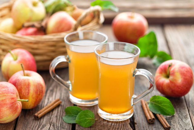 Польза, вред и калорийность яблочного сидра