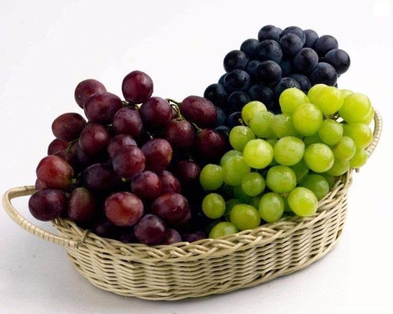 Можно ли есть виноград с косточками