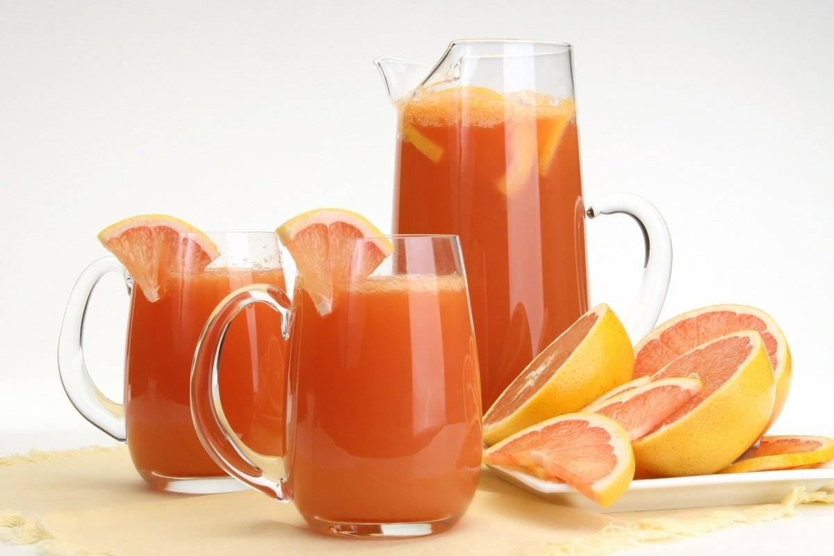 Грейпфрут, польза и вред для организма человека