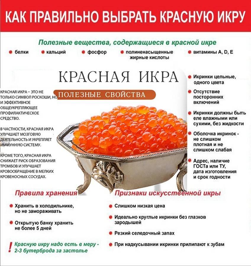 Красная икра: польза и вред, калорийность. натуральная красная икра: чем полезна и кому именно, а кому её употреблять вредно?