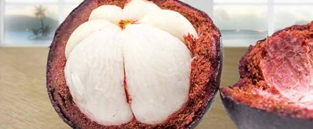 Что такое мангостин, чем полезен и как его чистить и есть