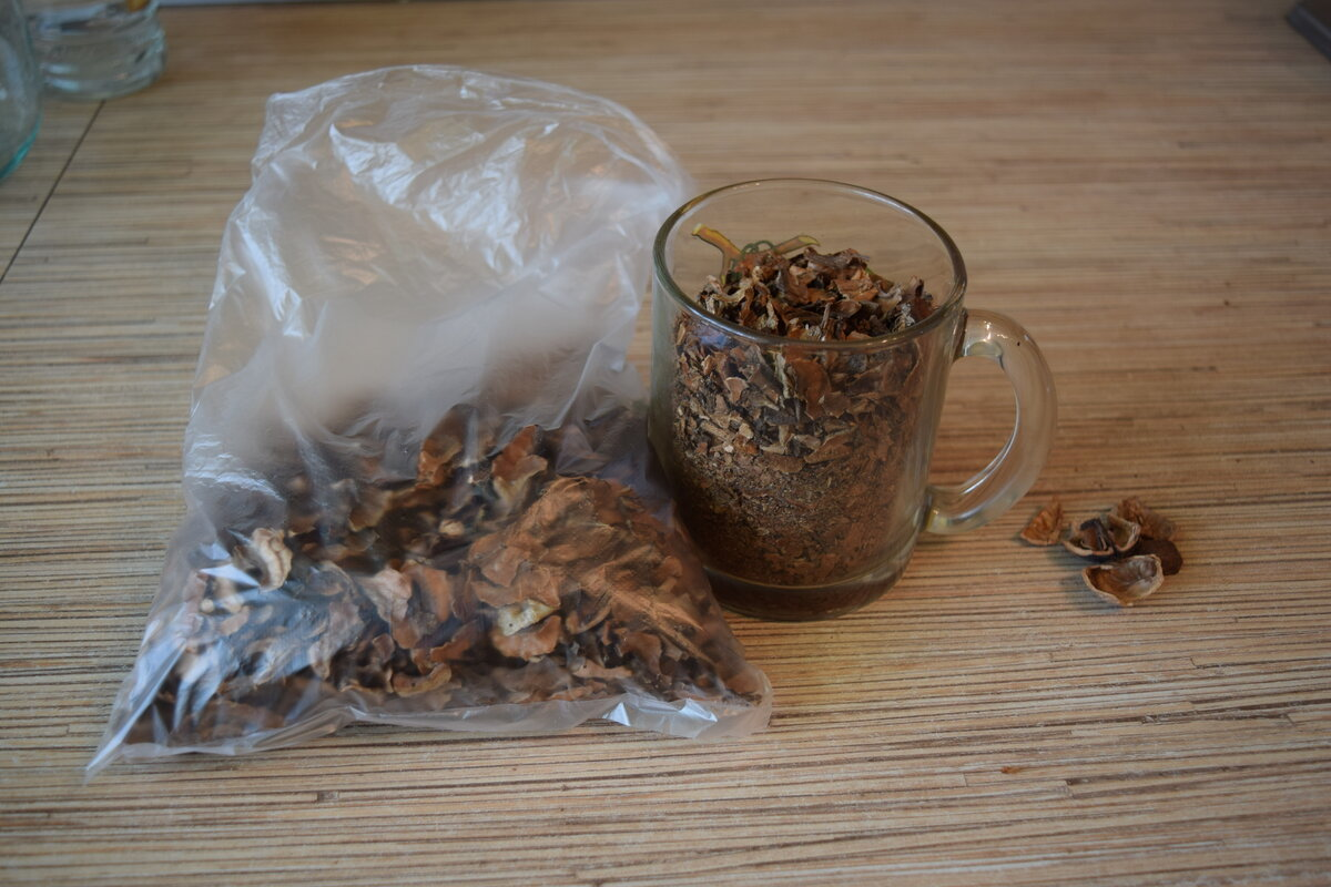 Настойка на грецких орехах