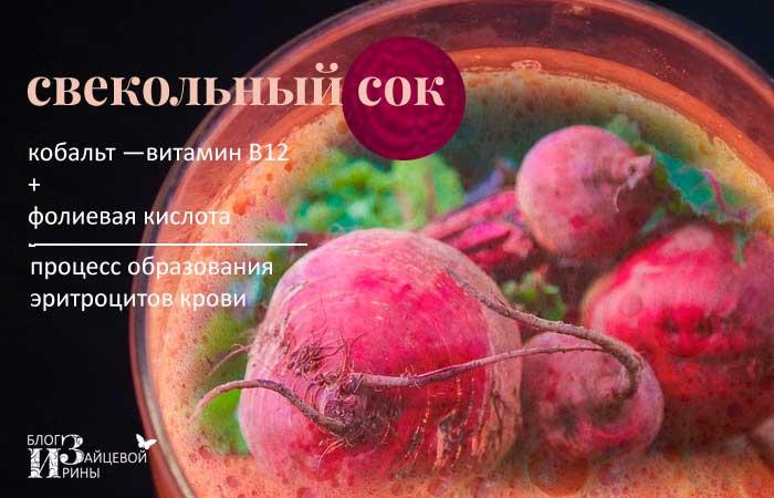 Свёкла и свекольный сок при беременности — вкус и польза в одном овоще