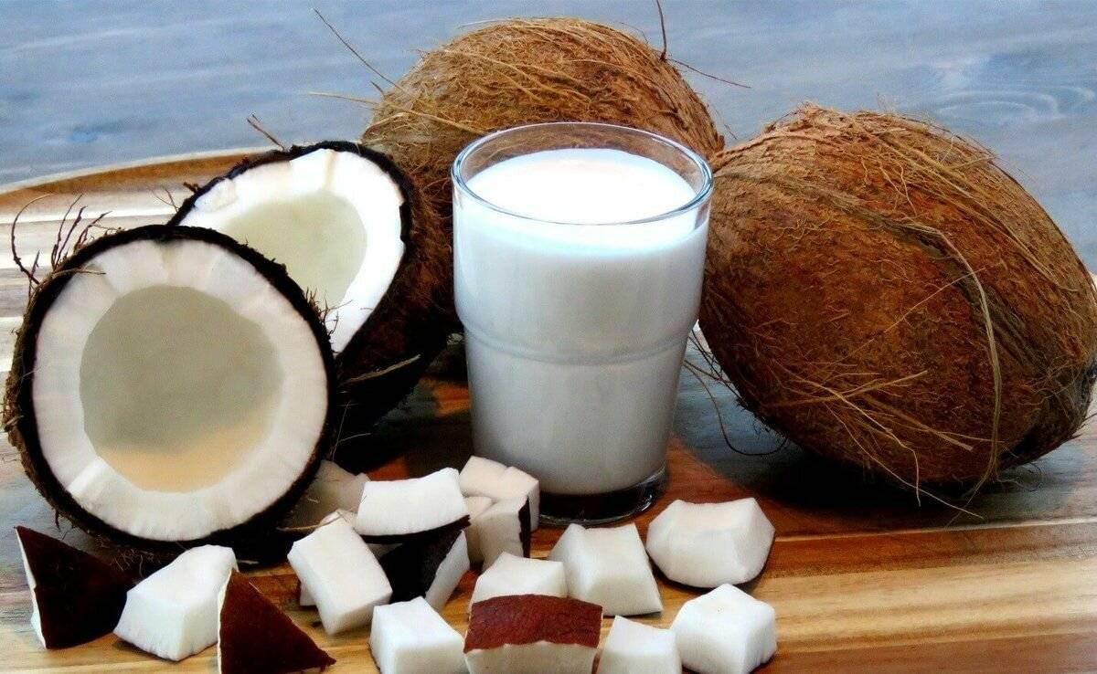 Польза кокосового молока для женщин
