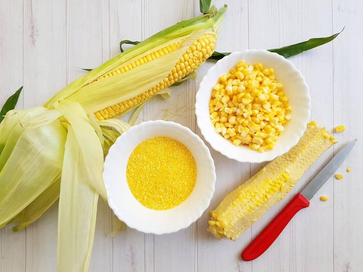 Кукурузная мука: полезные свойства и вред
