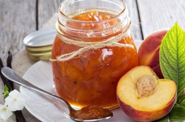 8 лучших рецептов варенья из персиков с грецкими орехами на зиму