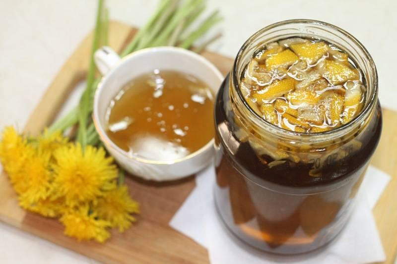 Полезное варенье из одуванчиков — лучшие рецепты и особенности приготовления