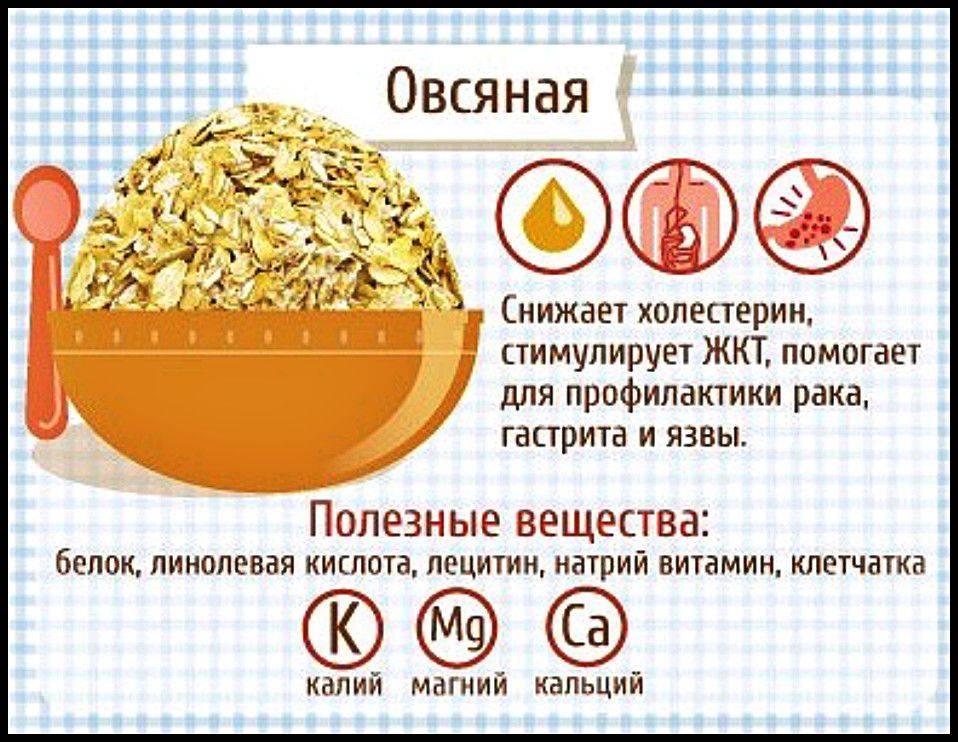 Польза овсяной каши — 8 доказанных свойств для организма человека, а также вред и противопоказания