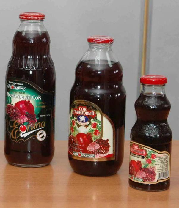 Сок граната, польза и вред