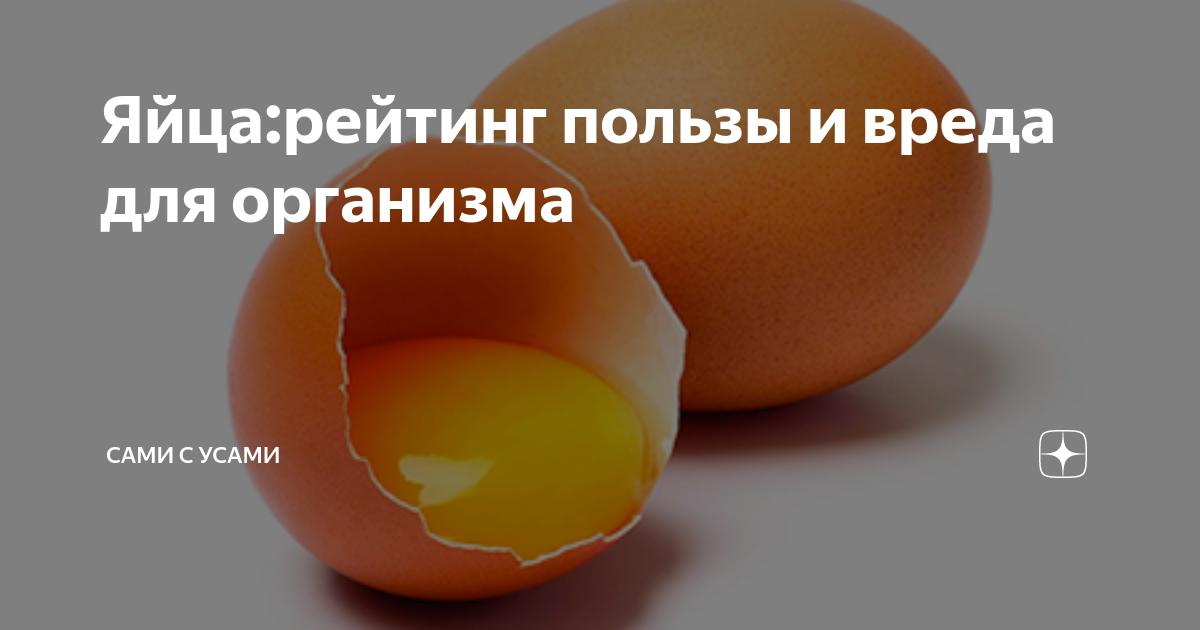 Гусиные яйца — польза и вред для здоровья