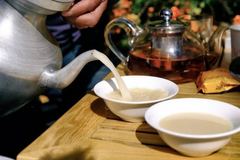 Калмыцкий чай – напиток с многолетней историей