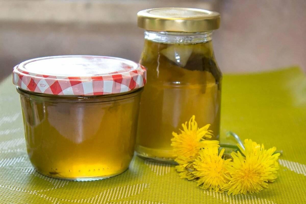 Польза и вред мёда из одуванчиков, противопоказания и рецепты красоты