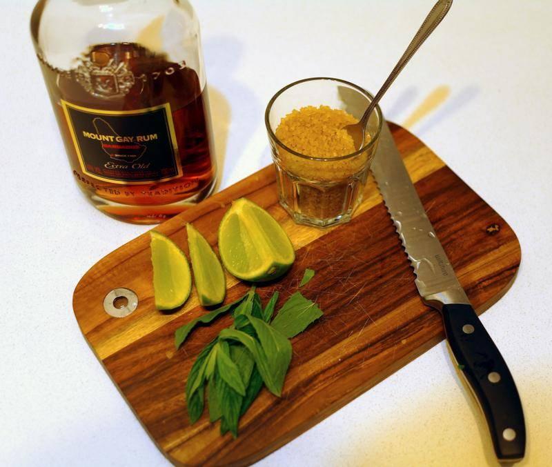Ром — с чем пить и чем закусывать