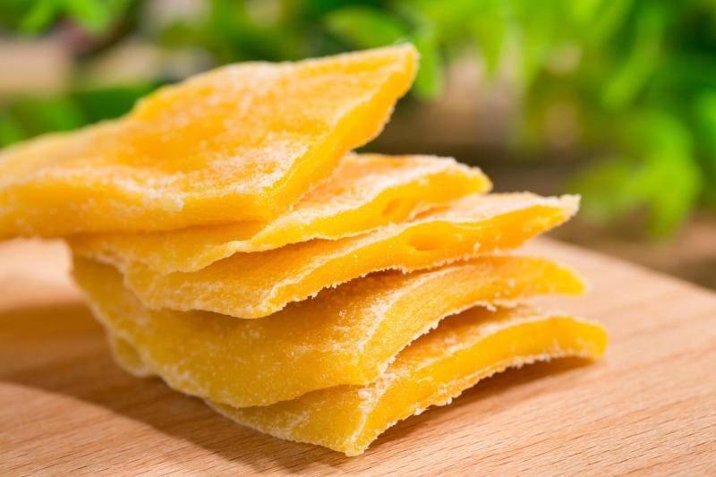 Тропический чудо-фрукт: польза и вред сушеного манго