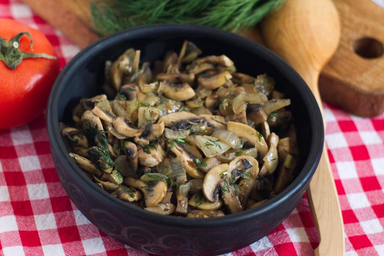 Маринованные, консервированные шампиньоны: что приготовить, вкусные рецепты блюд с фото