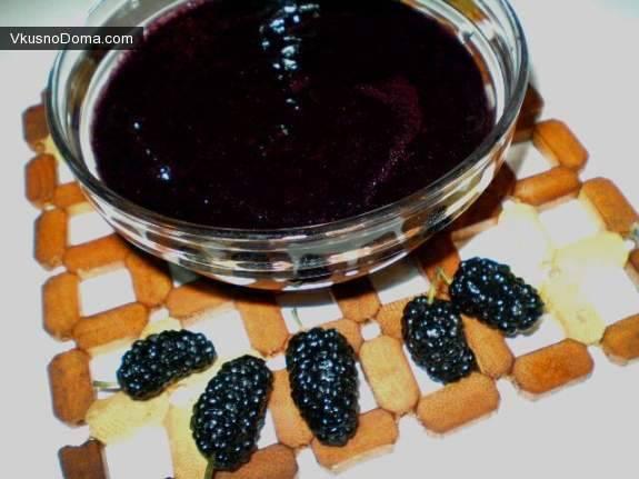Варенье из шелковицы: как правильно варить