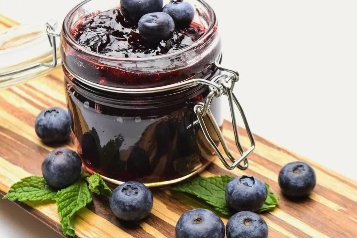 Вкусное варенье из черники с сахаром: простой рецепт на зиму