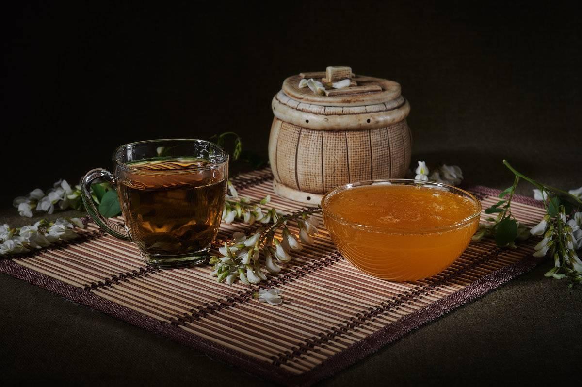 Черный чай с медом: польза и вред — калорийность