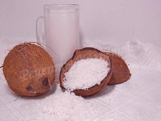 Кокосовая стружка – все способы применения и рецепт приготовления
