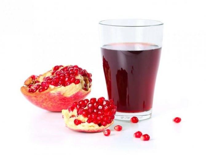 Свежевыжатый гранатовый сок: польза и вред. полезен ли сок граната в бутылках?