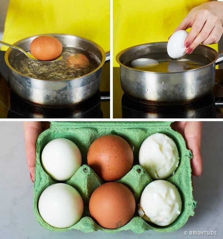Как сварить яйца чтобы они легко чистились от скорлупы: секреты кулинарии