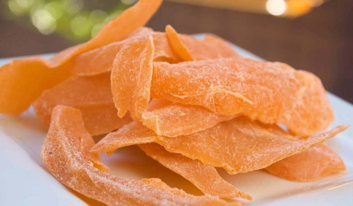 Сушеное манго — польза и вред