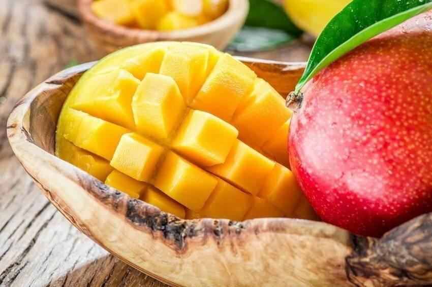 Полезные свойства и вред сушеного манго