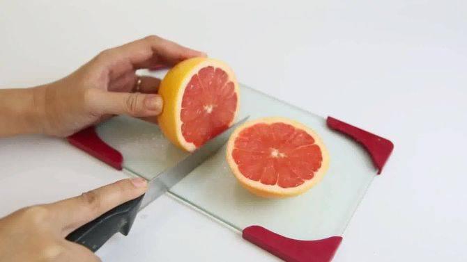 Как правильно чистить грейпфрут: советы с видео и фото