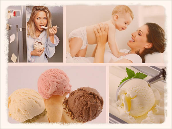 Можно ли мороженое кормящей маме в период грудного вскармливания?
