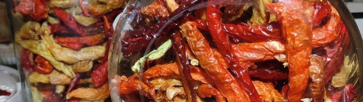 Вяленые перцы: способы и рецепты приготовления в домашних условиях