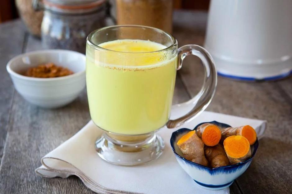 куркума с молоком – рецепт красоты и молодости