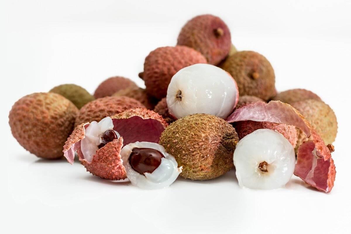 Личи – на что похож вкус фрукта и как его есть