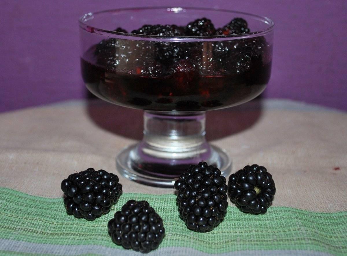 Варенье из ежевики пятиминутка на зиму - 5 рецептов с фото пошагово
