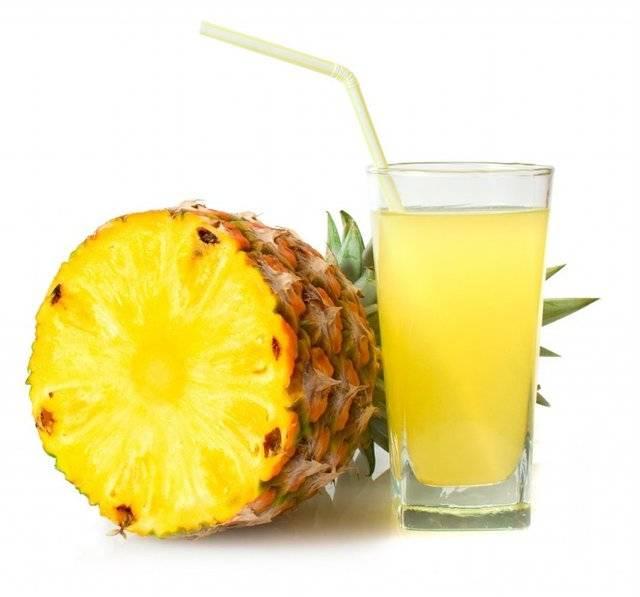 Ананасовый сок: чем полезен для мужчин и женщин, калорийность, противопоказания