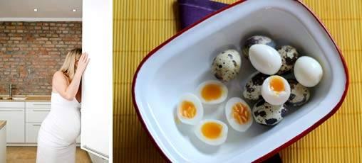 Перепелиные яйца для беременных: происхождение продукта, польза и вред от применения