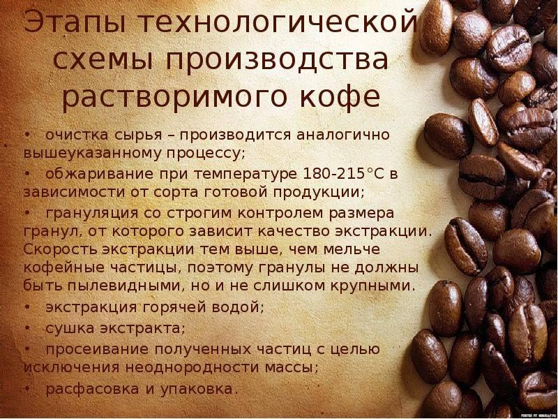 Растворимый кофе: польза и вред для здоровья